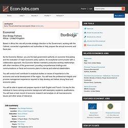 Economist job in Africa, United Kingdom