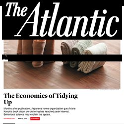 An Economist's Guide to Tidying Your Apartment - The Atlantic