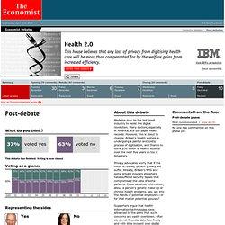 Debates: Health 2.0