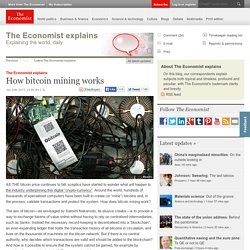 The Economist explains: How bitcoin mining works