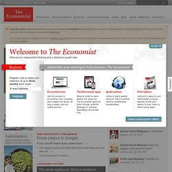 The Economist - World News, Politics, Economics, Business & Finance