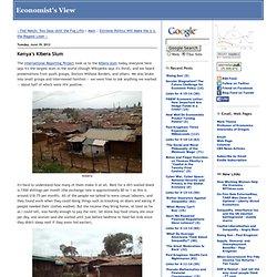 Kenya's Kibera Slum