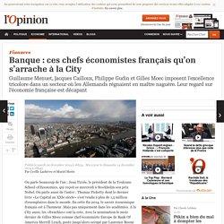 Banque : ces chefs économistes français qu'on s'arrache à la City