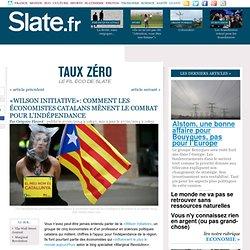 «Wilson Initiative»: comment les économistes catalans mènent le combat pour l'indépendance