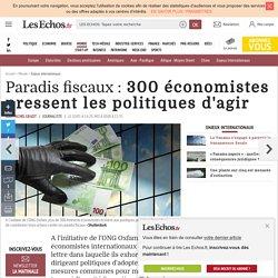 Paradis fiscaux: 300 économistes pressent les politiques d'agir, Enjeux internationaux
