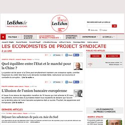 Les Economistes de Project Syndicate