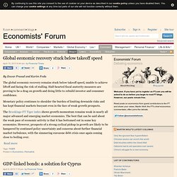 Economics blog from the Financial Times