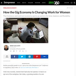 How the Gig Economy Is Changing Work for Women
