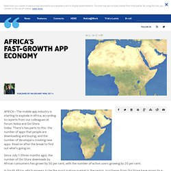 Africa's fast-growth app economy | Nokia Conversations - The official Nokia Blog