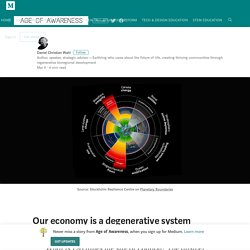 Our economy is a degenerative system – Age of Awareness