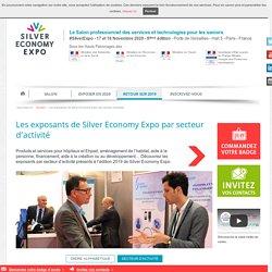 Silver Economy Expo : nos exposants par secteur d'activité