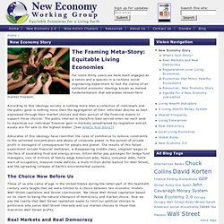 New Economy Working Group