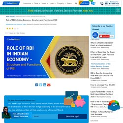 Role of RBI in Indian Economy - Structure and Functions of RBI