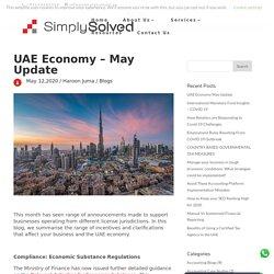 UAE Economy May Update - Simply Solved Dubai, UAE