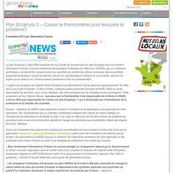 GENERATIONS FUTURES 04/11/15 Plan Ecophyto 2 – Casser le thermomètre pour résoudre le problème?