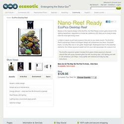 Ecopico Reef Desktop Aquarium - Eco Pico Reef Tank