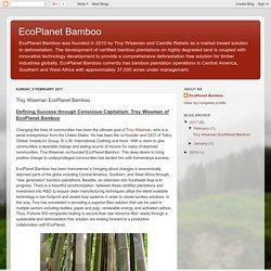 Troy Wiseman EcoPlanet Bamboo