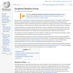 Ecoplanet Bamboo Group