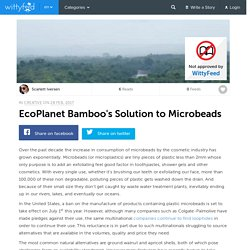 EcoPlanet Bamboo's Solution to Microbeads