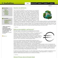 Ecopolítica - Centro de recursos, estudios y formación sobre Ecología Política