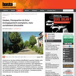 Vauban, l'écoquartier du futur écologiquement exemplaire, mais socialement discutable - Basta !