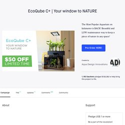 Your window to NATURE by Aqua Design Innovations