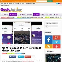 Bac ES 2016 : Ecoquiz, l'application pour réviser l'éco (SES)