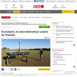 Ecorobotix, le robot désherbeur solaire de Triskalia