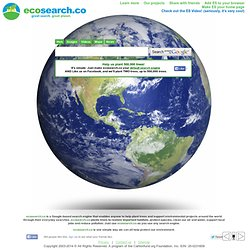 ecosearch.co--search to save the planet.
