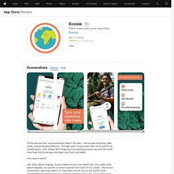 ‎Ecosia on the App Store