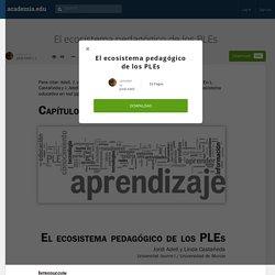 El ecosistema pedagógico de los PLEs