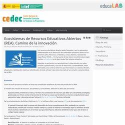 Ecosistemas de Recursos Educativos Abiertos (REA). Camino de la innovación