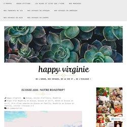 Ecosse 2016 : notre Roadtrip ! – happy virginie