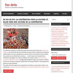 Idées & Astuces pour les Artistes et ceux qui les aident.