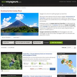 Voyage Costa Rica : ecotourisme et voyage responsable au Costa Rica