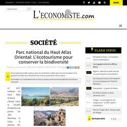 Parc national du Haut Atlas Oriental: L'écotourisme pour conserver la biodiversité