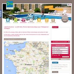 Label Ecotourisme - La Clef Verte - Premier label ecotourisme pour l'hebergement touristique