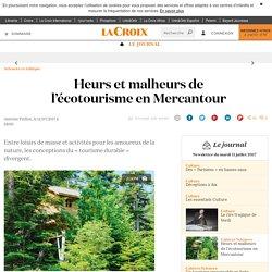 Heurs et malheurs de l'écotourisme en Mercantour - La Croix