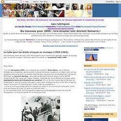 La lutte pour les droits civiques en musique (1955-1964).