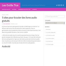 5 sites pour écouter des livres audio gratuits