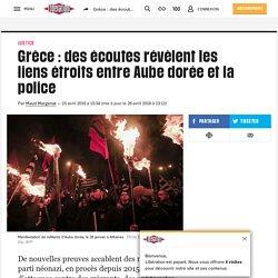 Grèce : des écoutes révèlent les liens étroits entre Aube dorée et la police