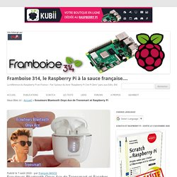 Ecouteurs Bluetooth Onyx Ace de Tronsmart et Raspberry Pi