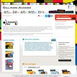 Écoutez lire, livres audios Gallimard jeunesse