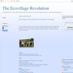 The Ecovillage Revolution: Ecovillages and intentional communities in Europe