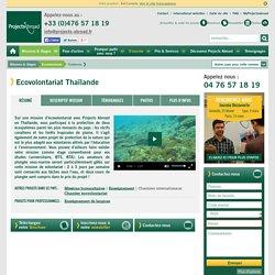 Ecovolontariat Thaïlande, plongée, écovolontaires, stages