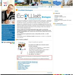 EcoWatt Bretagne