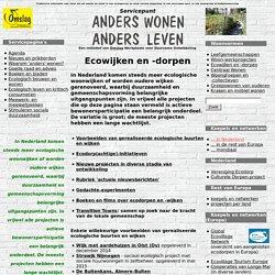 Ecowijken en -dorpen - Anders Wonen Anders Leven