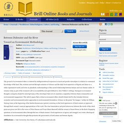 "<xhtml:span xml:lang=""en"">Toward an Ecowomanist Methodology</xhtml:span> »Brill Online"