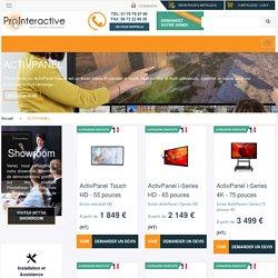 Ecran interactif Promethean - Achat