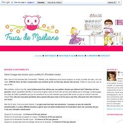 Trucs de Maëliane, le blog.: Gérer l'usage des écrans sans conflits #1 (Printable inside)